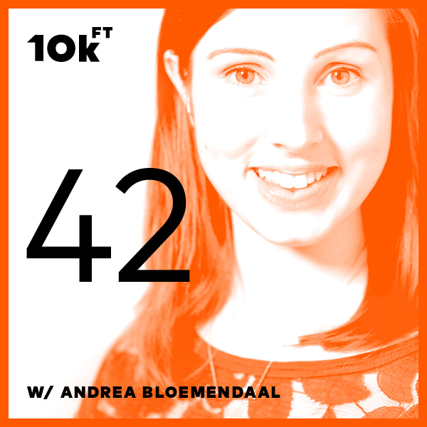 Ten Thousand Feet Podcast Episode 42: Mobile Accessibility with Andrea Bloemendaal